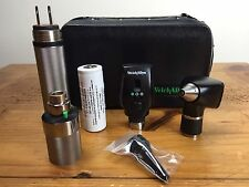 Welch Allyn 3.5V Otoscope 20000A & Ophthalmoscope 11720 Diagnostic Set W Handle