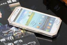 Luxury Aluminum Metal Carbon Fiber Cover Case For Samsung Galaxy S 3 III i9300