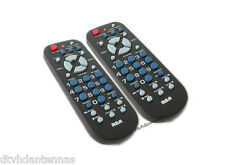 Two Digital Converter Box Remote control For Zenith/RCA/Apex/GE/Magnavox & More