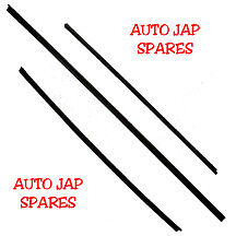 Toyota Estima Emina Lucida Wiper Blade Rubber Inserts  x 3 (front & rear)