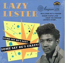 "LAZY LESTER - SOME SAY HE'S CRAZY (12 trax - 10"" VINYL LP - EXCELLO BLUES BOPPER"