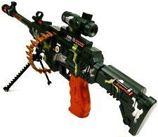 Automat  62cm Maschinengewehr Spielzeug Gewehr Licht Sound K1