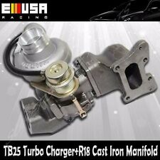 TB25 Turbo+Cast Iron Manifold fits 06-11 Honda Civic R18 EX DX 1.8L