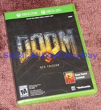 DOOM 3: BFG Edition (Xbox 360, One) NEW +Resurrection of Evil, Lost Mission, 1+2