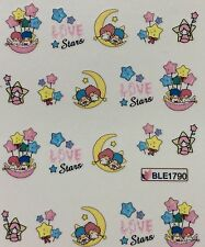 Nail Art Water Decals Little Twin Stars Hello Kitty Friends BLE1790