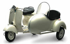 Newray 1/6 Scale 1955 Vespa Piaggio W/ Sidecar Motorcycle Scooter 48993