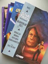 6 Bücher Star Trek Deep Space Nine Captain's Logbuch Trek-Lexikon Wars Next Gene