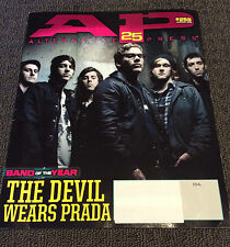 ALTERNATIVE PRESS Magazine The Devil Wears Prada Cover Feb 2010 #259 Rare