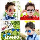 New Cool Sunglasses Girl Boy Retro Metal Frame Children Kids Aviator Sun Glasses