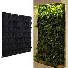 56 Pocket Hanging Vertical Garden Planter Indoor Outdoor Herb Pot Decor