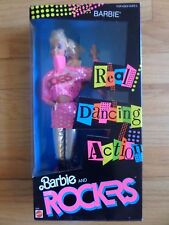 "1986 MATTEL ""BARBIE AND THE ROCKERS"" BARBIE DOLL/DANCING ACTION/#3055/SEALED!"