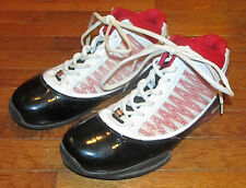Mens Size 9 Fubu Basketball Fashion Shoes Black Red White Plastic Fly Wire