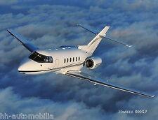 Prospekt Flugzeug Raytheon Aircraft  Hawker 800XP 3/01 brochure prospectus