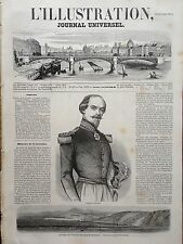 L' ILLUSTRATION 1854 N 607 LE GENERAL FRANCOIS CANROBERT LA GUERRE DE CRIMEE