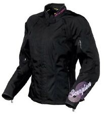 NWT, Scorpion Women's Lily Motorcycle Jacket Coat, Black Pink New!  Size L Large