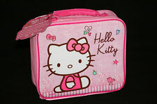 HELLO KITTY Pink Luch Bag NEW Padded Insulated Lunchbox Sanrio Licensed