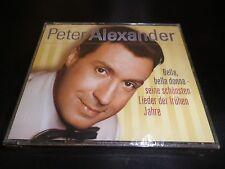 PETER ALEXANDER-BELLA, bella donna-SEINE SCHONSTEN LIDER DER FRUHEN JAHRE 3 CD'S