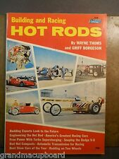 Building & Racing Hot Rods Griff Borgeson 526 Fawcett Book Dodge V-8 Engineering