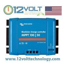 Victron Blue Solar MPPT 100/50 50 Amp Solar Charge Controller Regulator