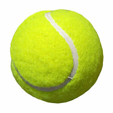 15x TENNIS BALLS 40mm Rice Paper Cup Cake Fairy Toppers BALL