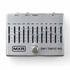 MXR M-108S Ten Band EQ pedal