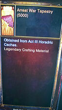 DIABLO 3 NEW CRAFT MATERIALS KANAI'S CUBE 5000 OF EACH XBOX ONE 2.3 Softcore