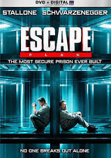 ESCAPE PLAN New Sealed DVD Sylvester Stallone Arnold Schwarzenegger