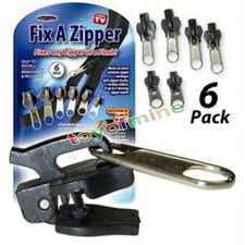Hot Sell TV 6Pcs Fix A Zipper Zip Slider Rescue Instant Repair Kit Replacement
