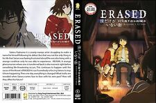 DVD Anime ERASED , 12 Eps , English Subtitle , ALL Region