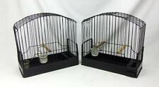 2 Border Canary Show Bird Cages Fife Finch Aviary Bird Vintage Kent Cage