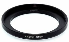 43.5mm-52mm 43.5mm to 52mm  43.5 - 52mm Step Up Ring Filter Adapter for Camera