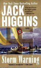 Storm Warning by Jack Higgins (2000, Paperback)