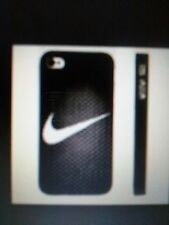 Sports Logo Hard Back Cover for iPhone 4 & 4S - Black White