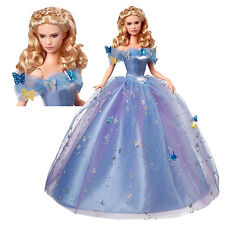 FIGURE CENERENTOLA BARBIE DOLL CINDERELLA ROYAL BALL DRESS BALLO REALE PRINCESS