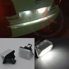 2x Bright LED License Plate lights for mazda cx-5 2013-2014 cx-7 mazdaspeed 6