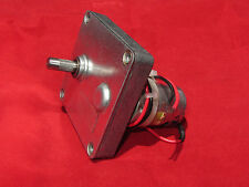 45 RPM 12V - 24V DC Mabuchi Gear Head Motor - High Torque 7.5 lb-in stall, Molon