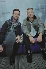 MACKLEMORE & RYAN LEWIS - A3 Poster (ca. 42 x 28 cm) - Clippings Fan Sammlung