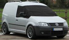 VW Caddy Window Black Front Screen Curtain Wrap Cover Frost Protection Blind