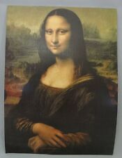 Painting No. 1 Mona Lisa by Leonardo Da Vinci Masterpiece Collection Lithograph