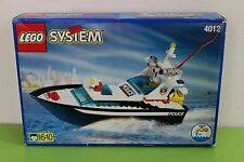 Lego Boat Police Set 4012 Wave Cops 100% complete - with instr. and box