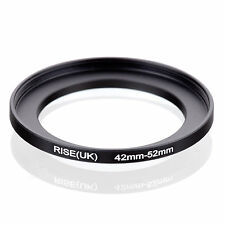42mm to 52mm 42-52 42-52mm42mm-52mm Stepping Step Up Filter Ring Adapter