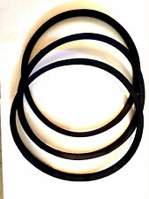 *NEW 3 Replacement BELT SET* Circa 1947 Delta Rockwell Unisaw Serial # 53-4689