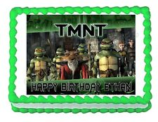 TMNT Teenage Mutant Ninja Turtles frosting cake topper