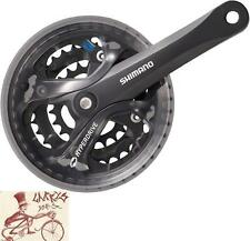 SHIMANO ACERA M361 175MM 28T/38T/48T BLACK 7/8-SPEED MTB SQUARE TAPER BIKE CRANK
