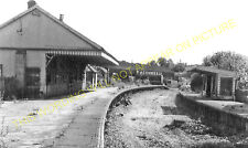 Andover Town Railway Station Photo.Andover Jct. to Clatford and Fullerton. (19)