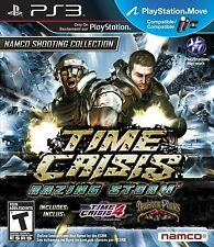 PLAYSTATION 3 PS3 GAME TIME CRISIS: RAZING STORM  MOVE COMPATABLE BRAND NEW