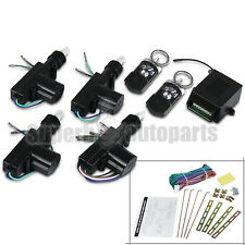 For 2 3 4 Door Car Central Power Door Lock / Unlock Remote Kit Keyless Entry