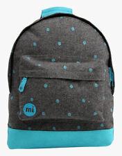Rucksack Mi-Pac Backpack Gefilzt Polka Grau Blau Rucksack Mochila рюкзак MiPac