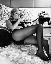 "Britt Ekland James Bond 007 10"" x 8"" Photograph no 6"