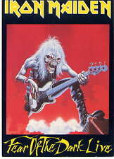 IRON MAIDEN - post card - UK